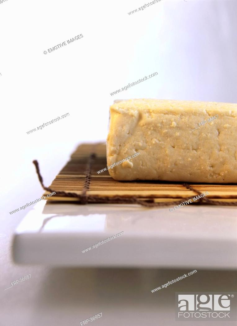 Stock Photo: Tofu.