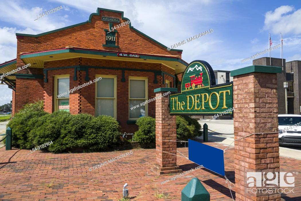 Imagen: The Depot an old train station in Arcadia Florida.