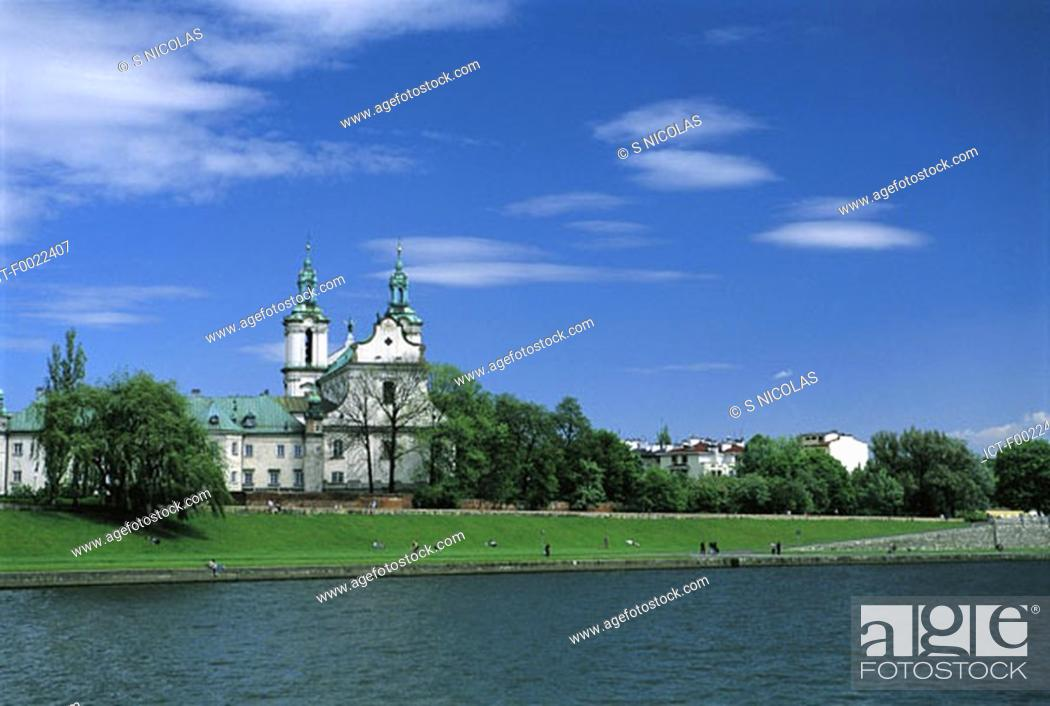 Stock Photo: Poland, Kracow, Pauline Monastery.
