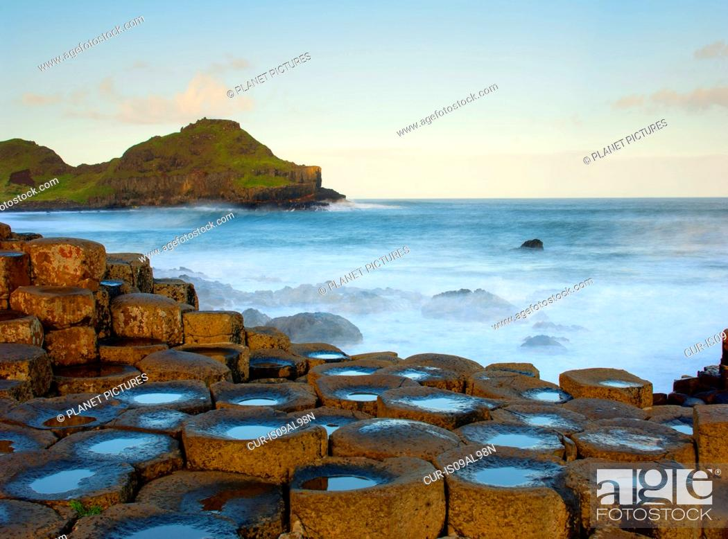 Photo de stock: View of Giants Causeway, County Antrim, Northern Ireland.