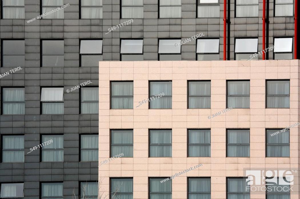 Stock Photo: building in Valencia, Spain.