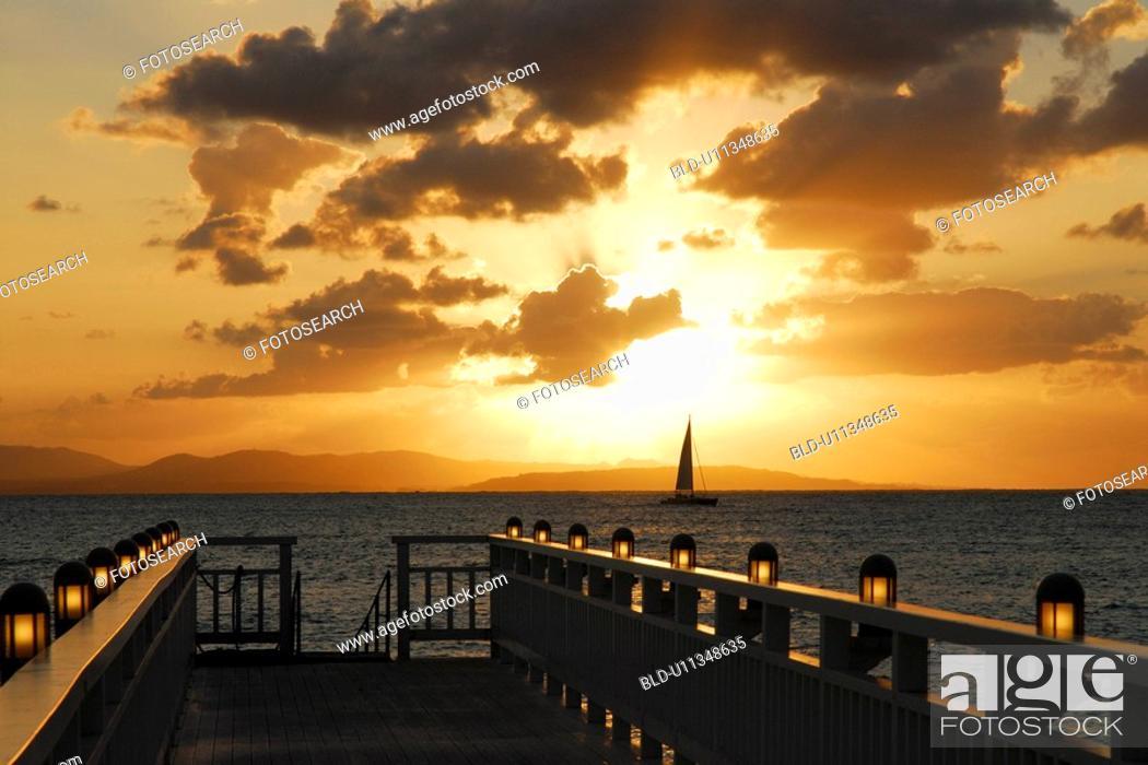 Stock Photo: Okuma beach.