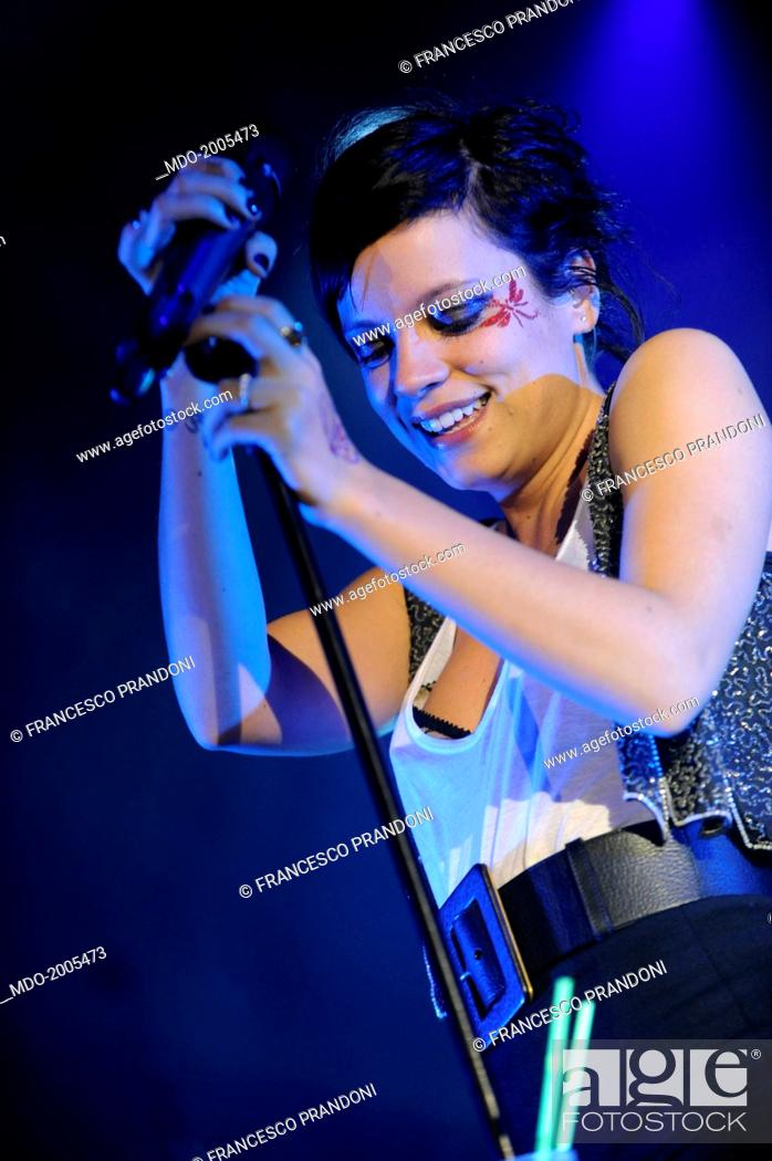 British Singer Actress And Fashion Designer Lily Allen Lily Rose Beatrice Allen Performing At Stock Photo Picture And Rights Managed Image Pic Mdo 2005473 Agefotostock