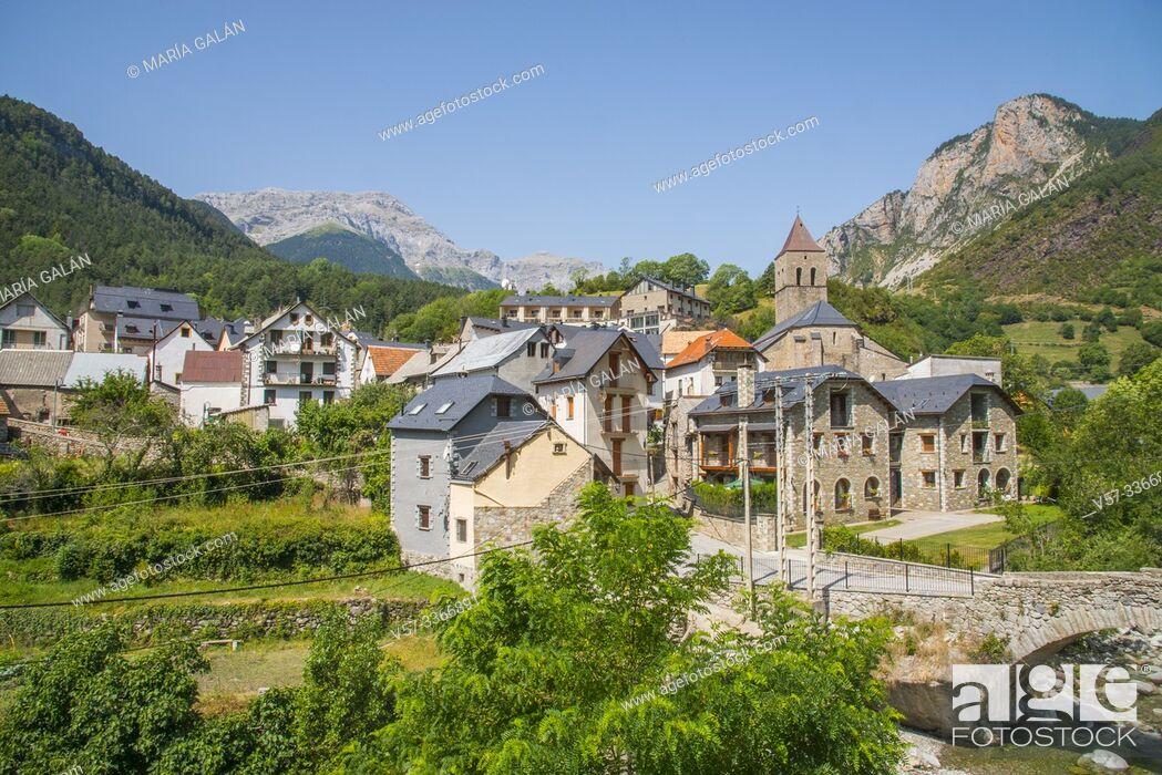 Imagen: Bielsa, Huesca province, Aragon, Spain.