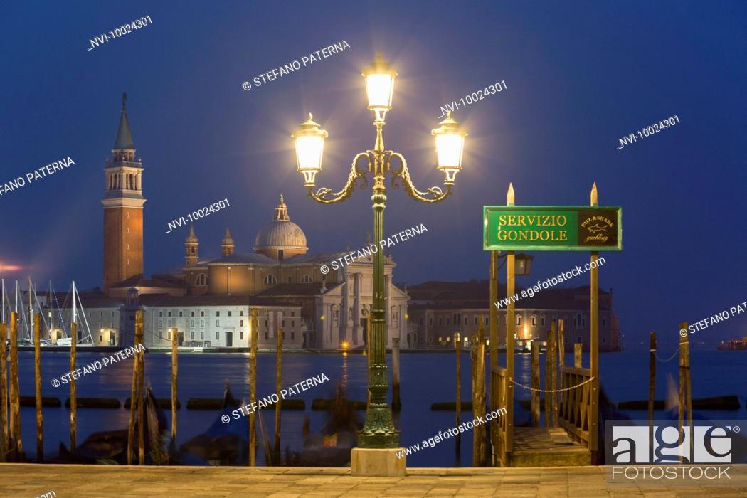 Stock Photo: San Giorgio Maggiore, Venice, Italy.