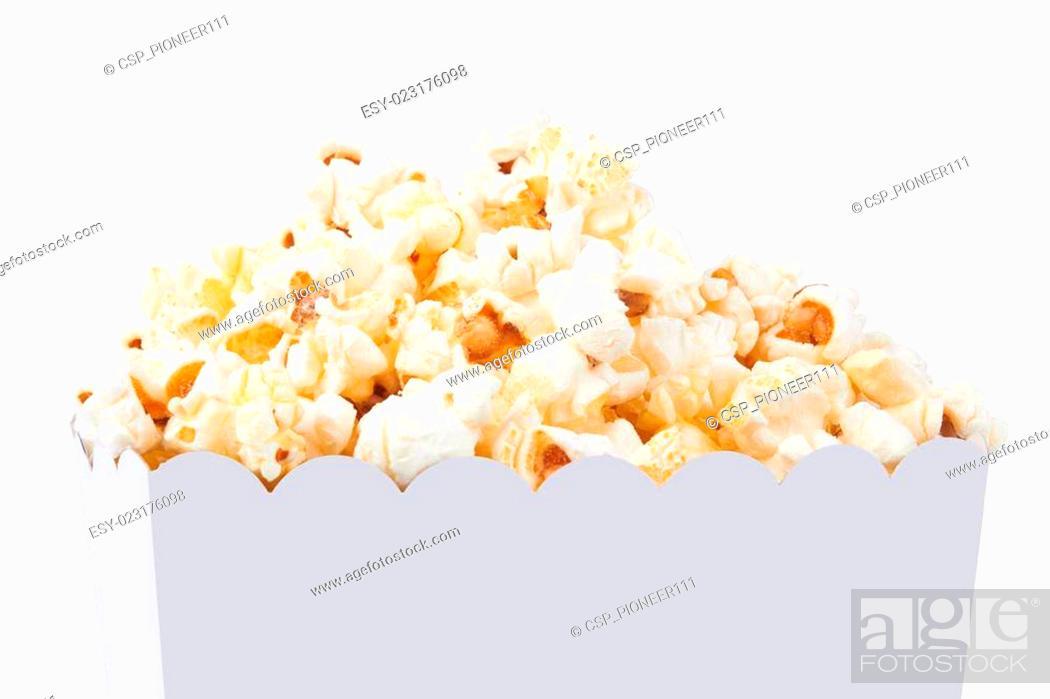 Stock Photo: popcorn.
