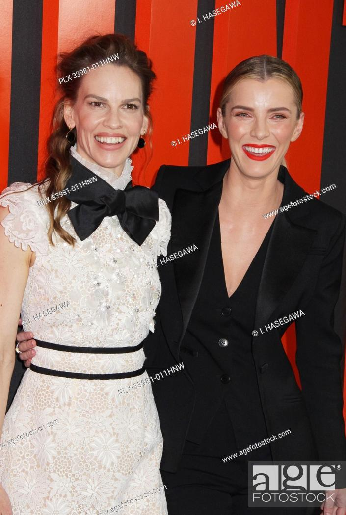 "Stock Photo: Hilary Swank, Betty Gilpin 03/09/2020 The Special Screening of """"The Hunt"""" held at The ArcLight Hollywood in Los Angeles, CA. Photo by I."