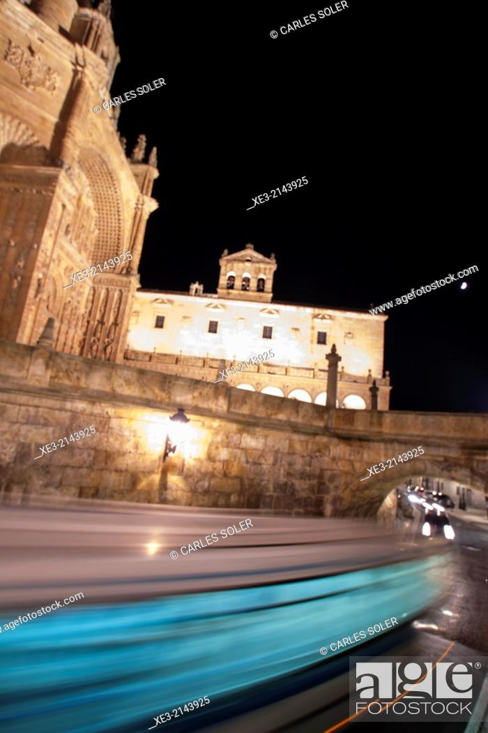 Stock Photo: Salamanca speed.