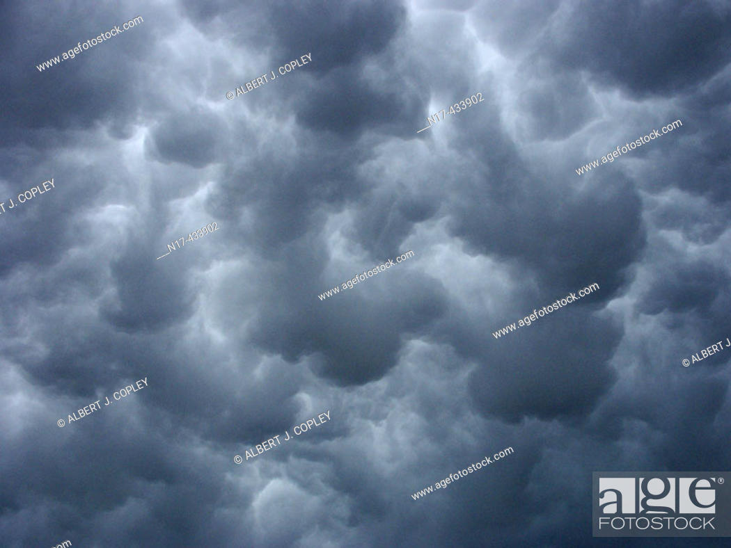 Stock Photo: Storm clouds.