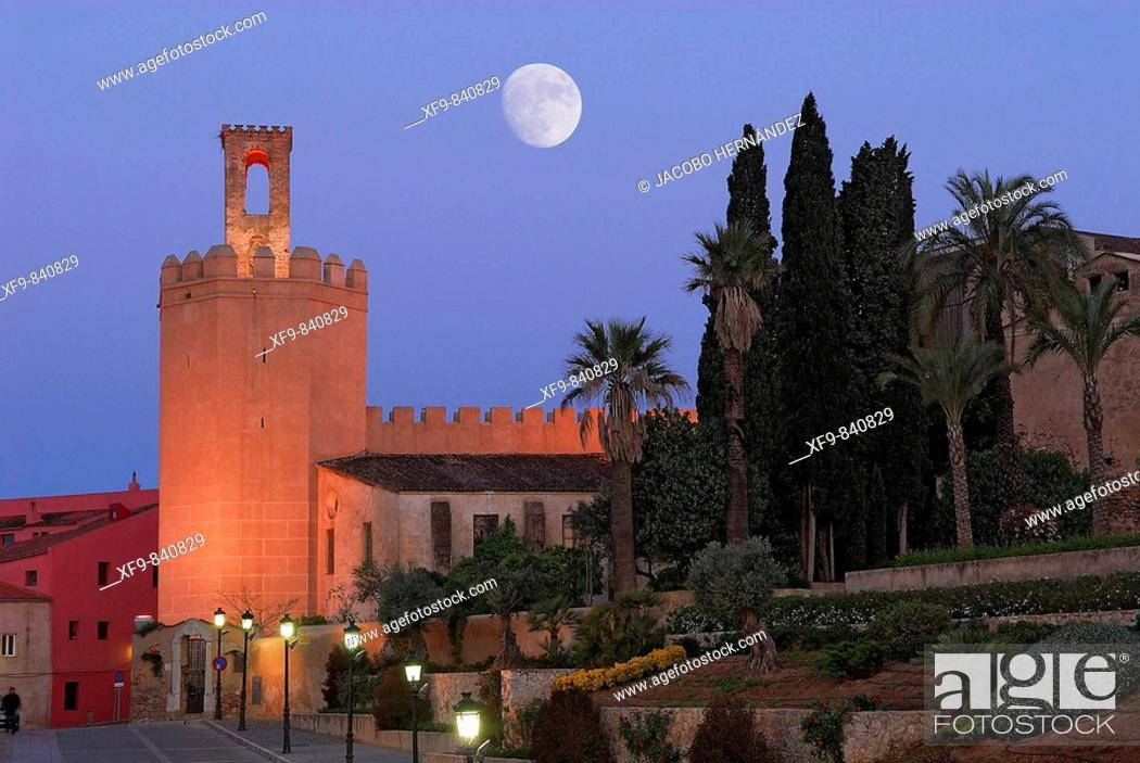 Stock Photo: Torre de Espantaperros. S.XII. Badajoz. Extremadura. Spain.
