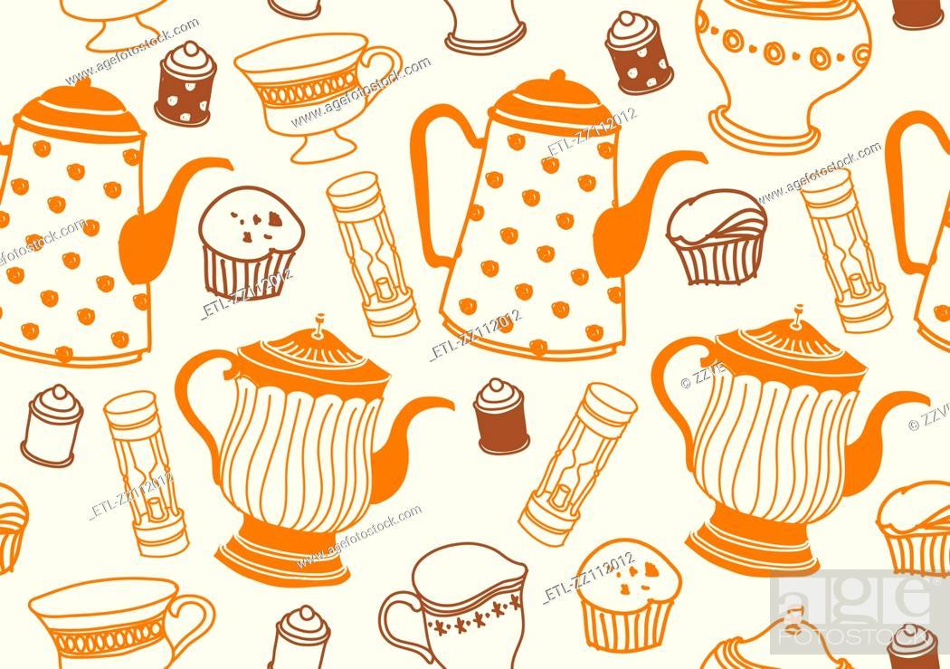 Stock Photo: Close-up of teapot.
