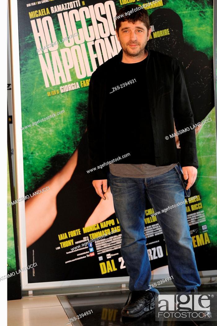Imagen: libero de rienzo; de rienzo; actor; celebrities; 2015;rome; italy;event; photocall; ho ucciso napoleone.