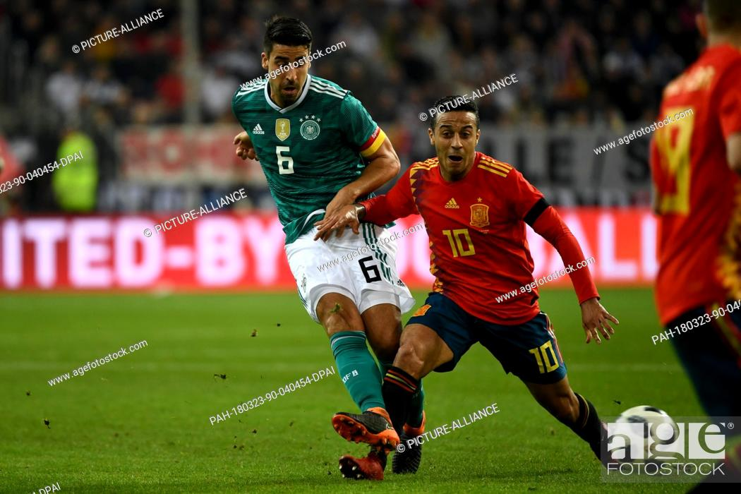 2c509b90 Soccer: Friendly match, Germany vs Spain, 23 March 2018 in the ...