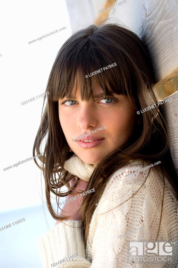 Stock Photo: Teenage girl portrait.