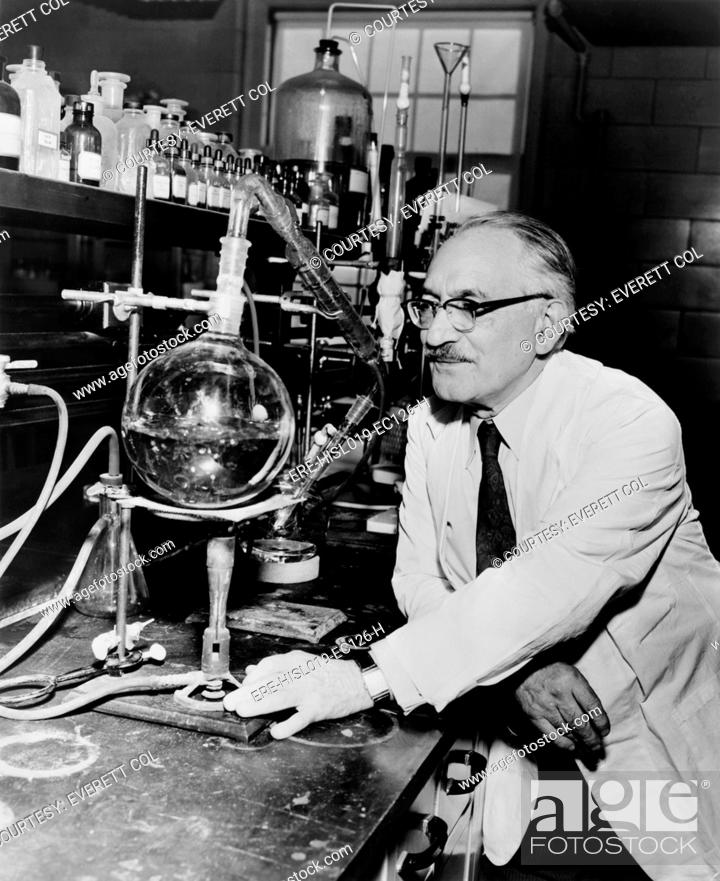 Dr Selman Waksman 1888 1973 Winner Of The 1952 Nobel Prize In