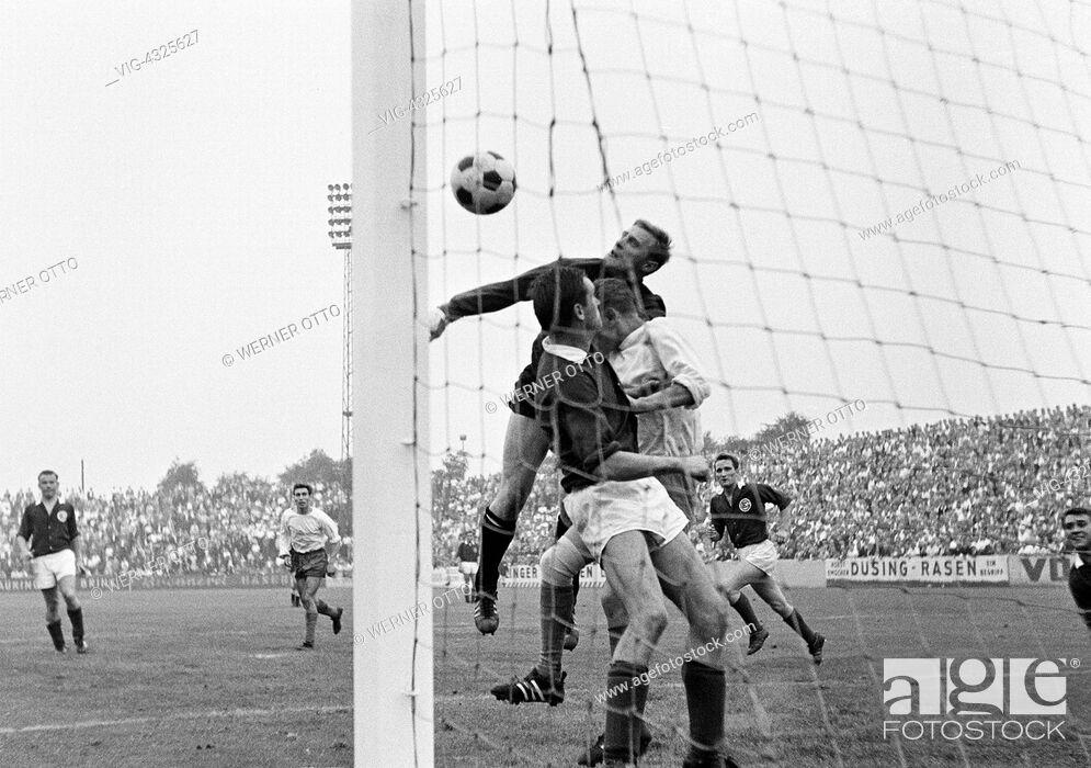 Fussball Regionalliga West Saison 1965 1966 Rot Weiss