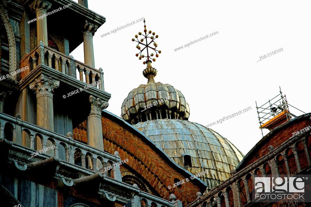 Stock Photo: Basilica di San Marco, venice italy.