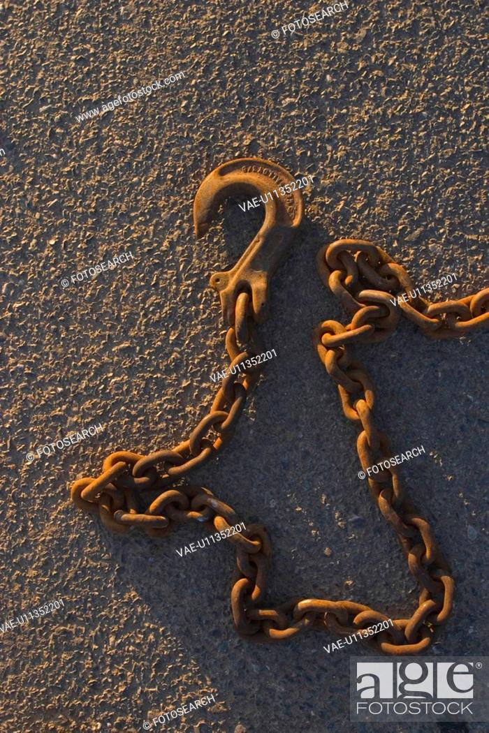 Stock Photo: attrition, chain, abrasion.