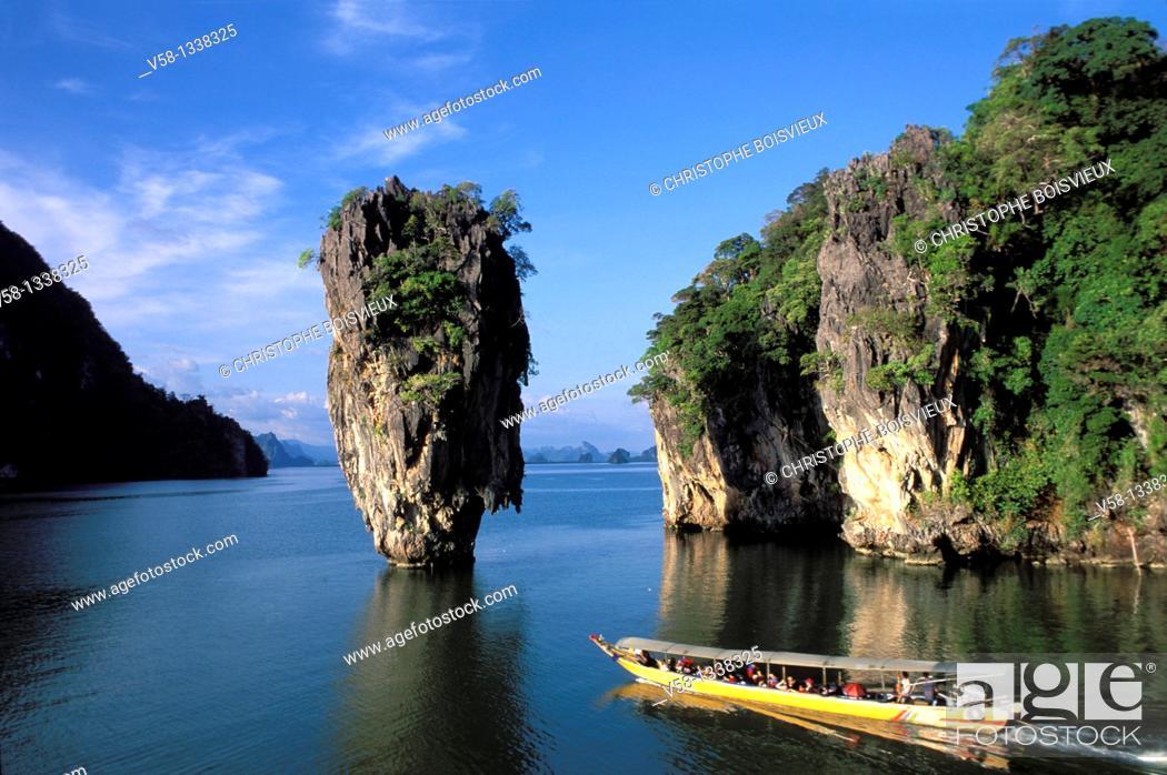 Stock Photo: PHANG NGA BAY, THAILAND.
