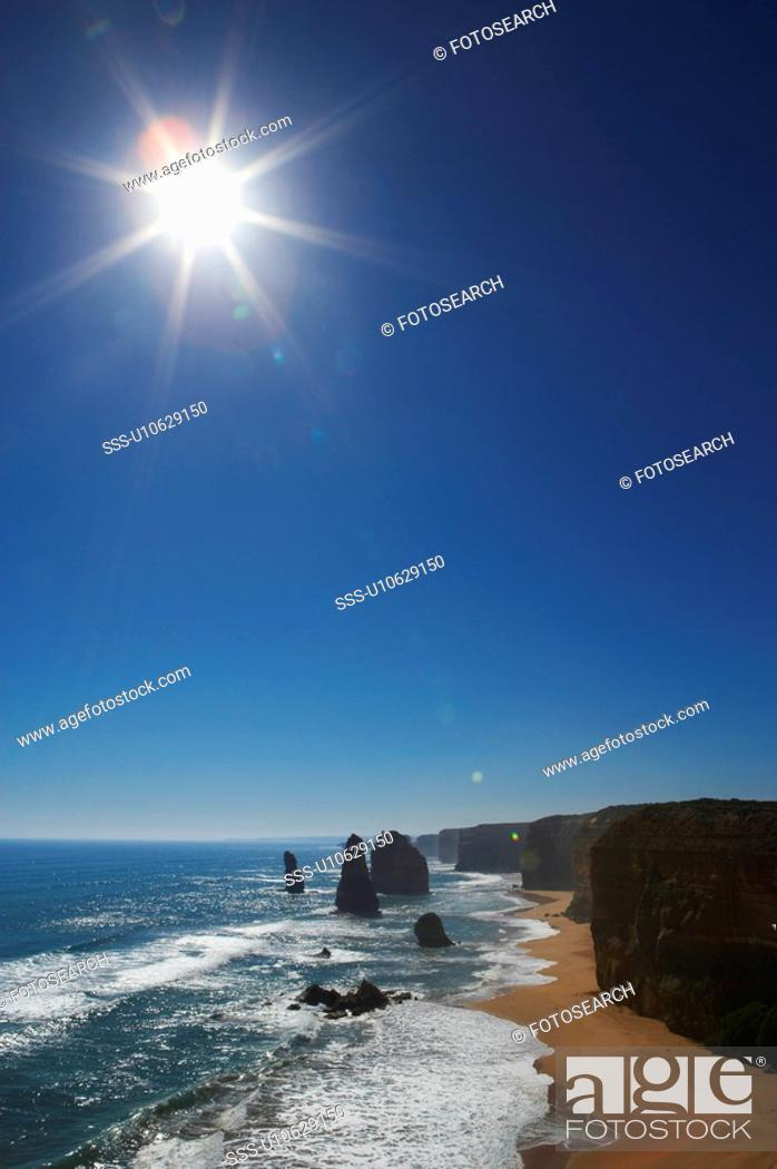 Stock Photo: Twelve Apostles, Great Ocean Road, Australia.