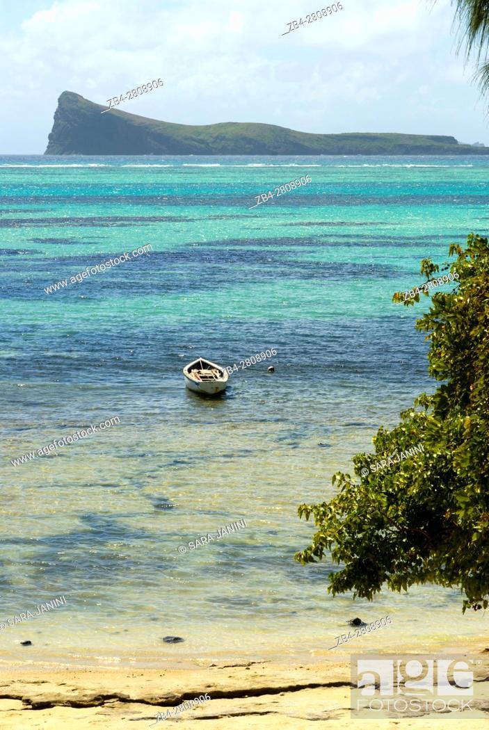 Grand Baie, Mauritius, Indian Ocean, Africa, Stock Photo