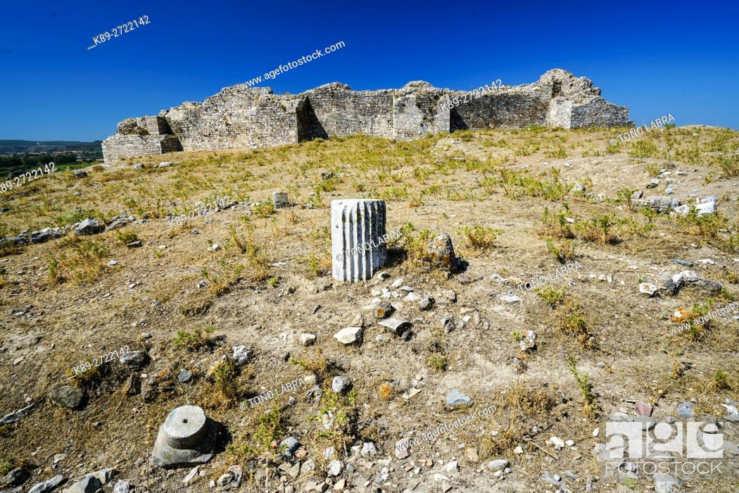 Stock Photo: Miletus. Ancient Greece. Asia Minor. Turkey.