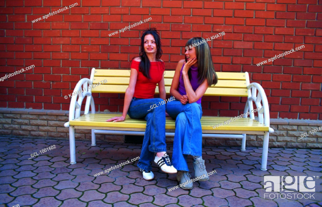 Stock Photo: Women chatting.