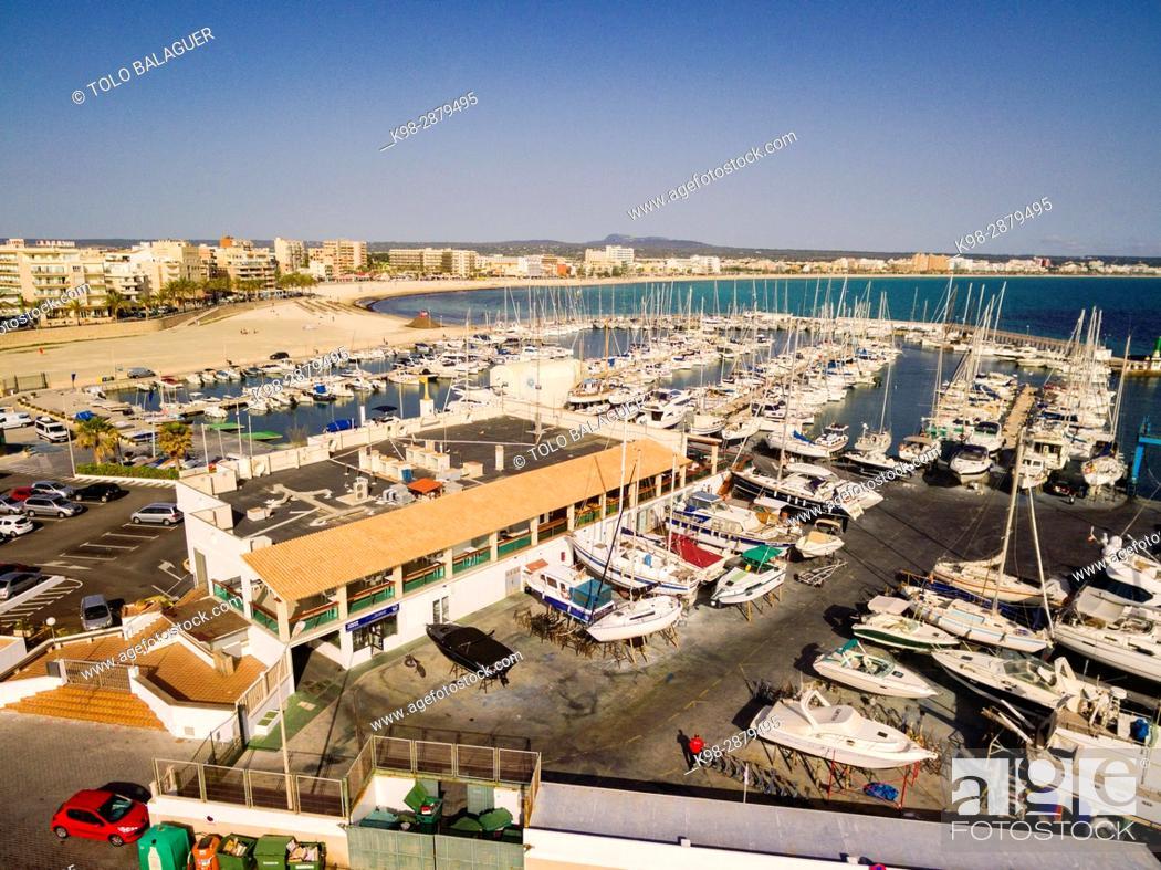 Stock Photo: puerto deportivo, Can Pastilla, playa de Palma, Mallorca, balearic islands, spain, europe.
