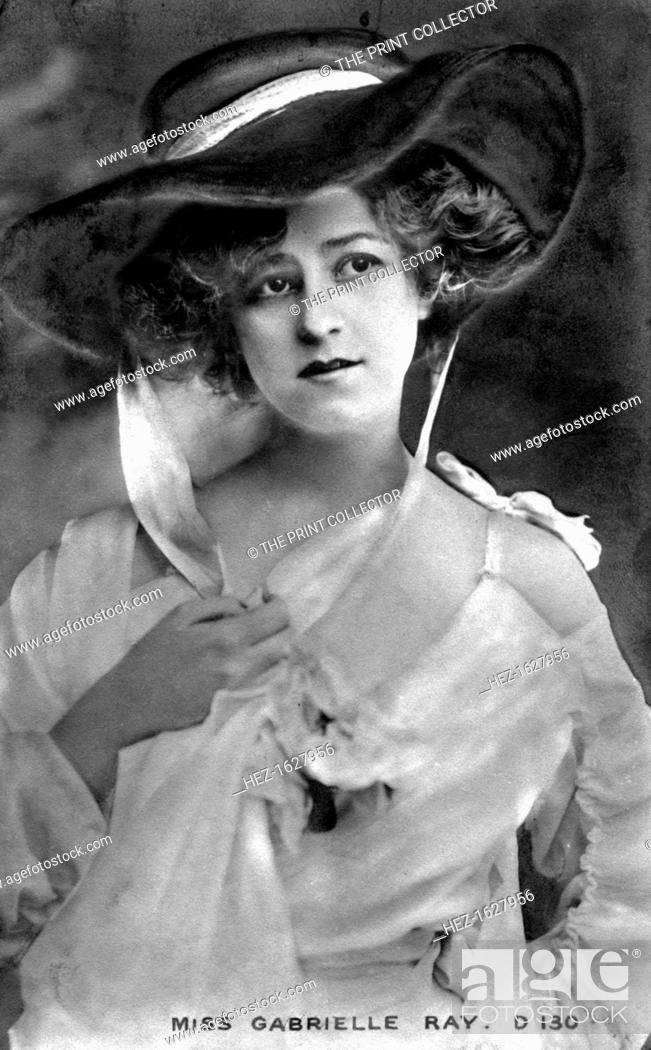 Stock Photo: Gabrielle Ray (1883-1973), English actress, early 20th century.