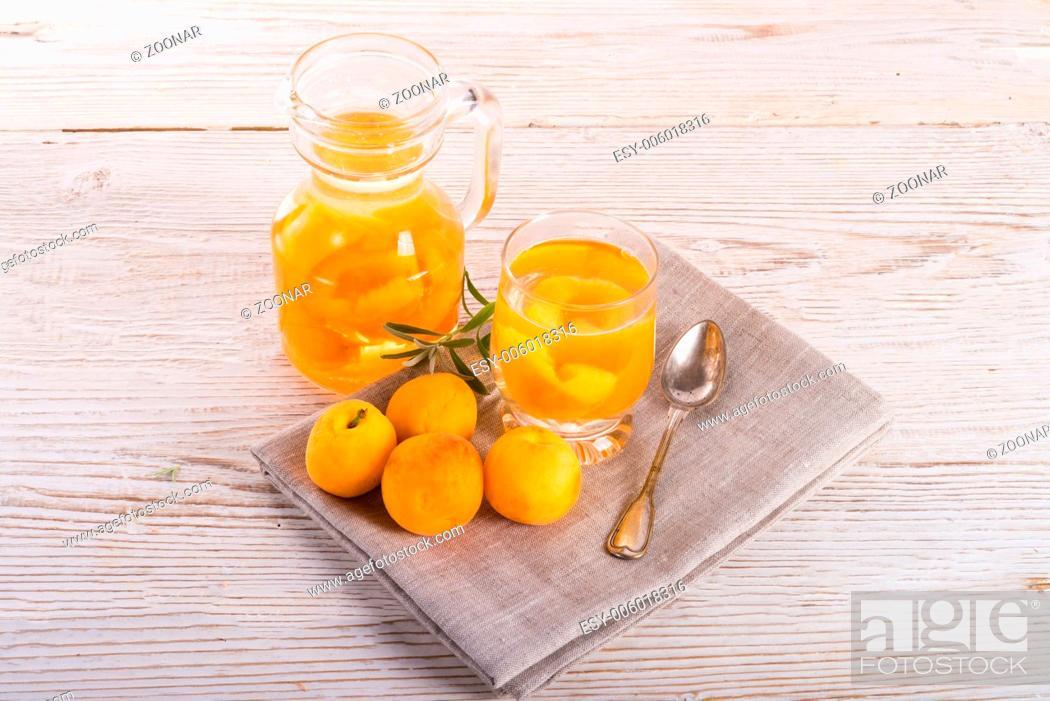 Stock Photo: Kompot - Fruit cocktail.