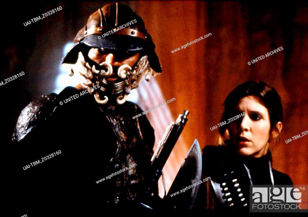 Stock Photo: Star Wars: Episode VI - Rückkehr der Jedi-Ritter / Carrie Fisher / Billy Dee Williams / Die Rückkehr der Jedi-Ritter - Special Edition.