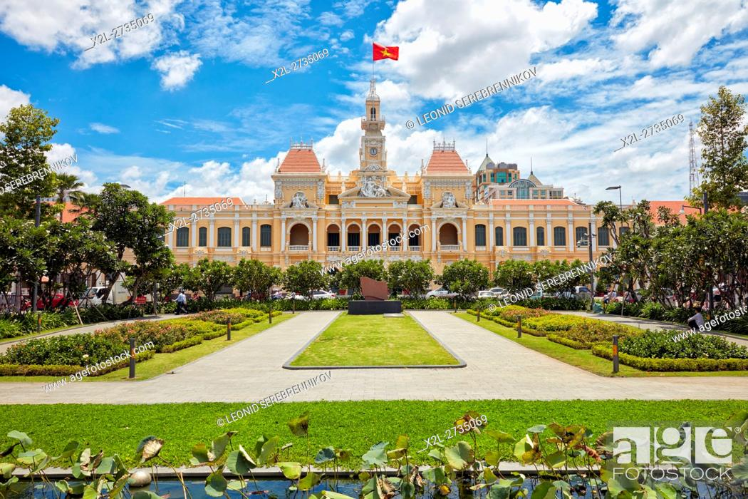 Imagen: People's Committee Building. Ho Chi Minh City, Vietnam.