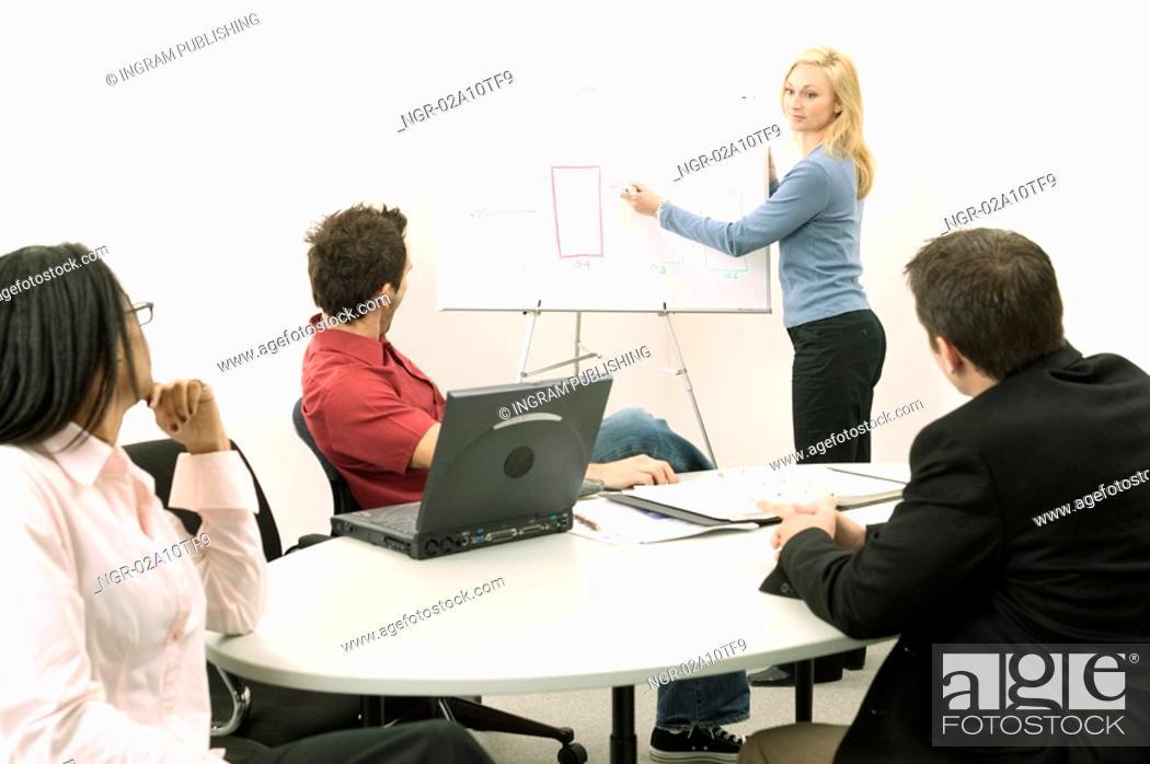 Stock Photo: Business Presentation.