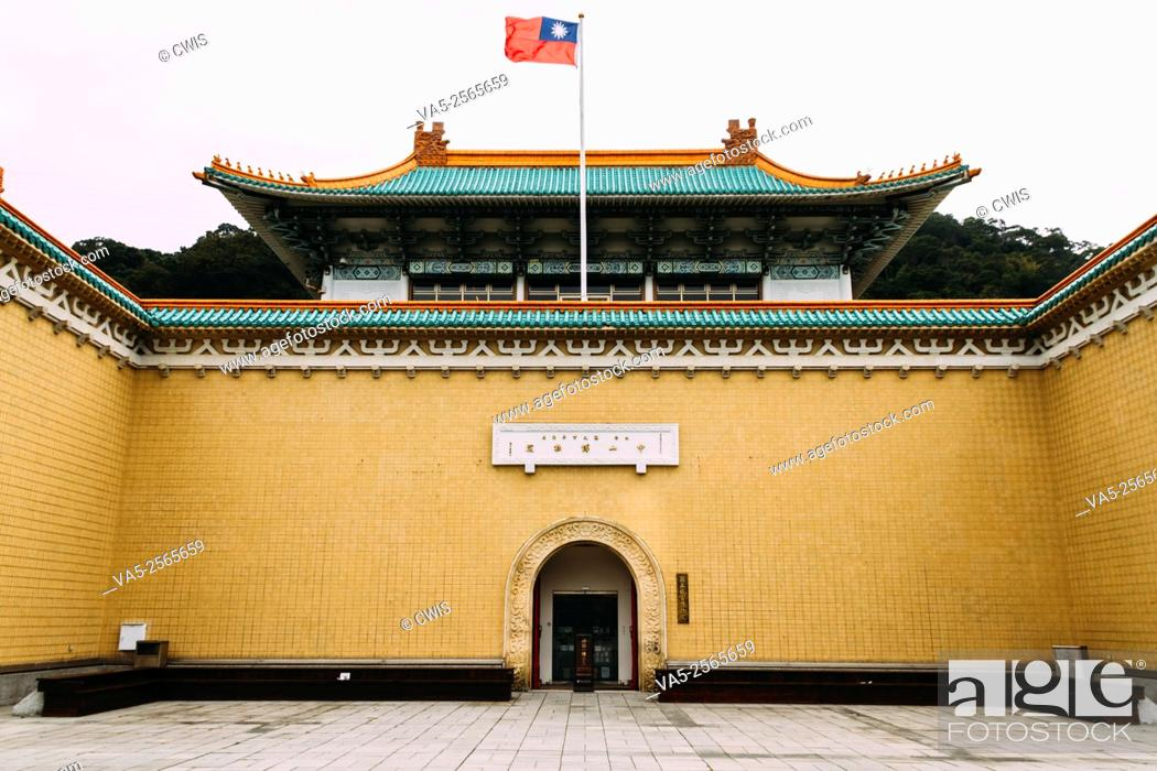Imagen: Taipei, Taiwan - The view of Taipei Palace Museum in the daytime.