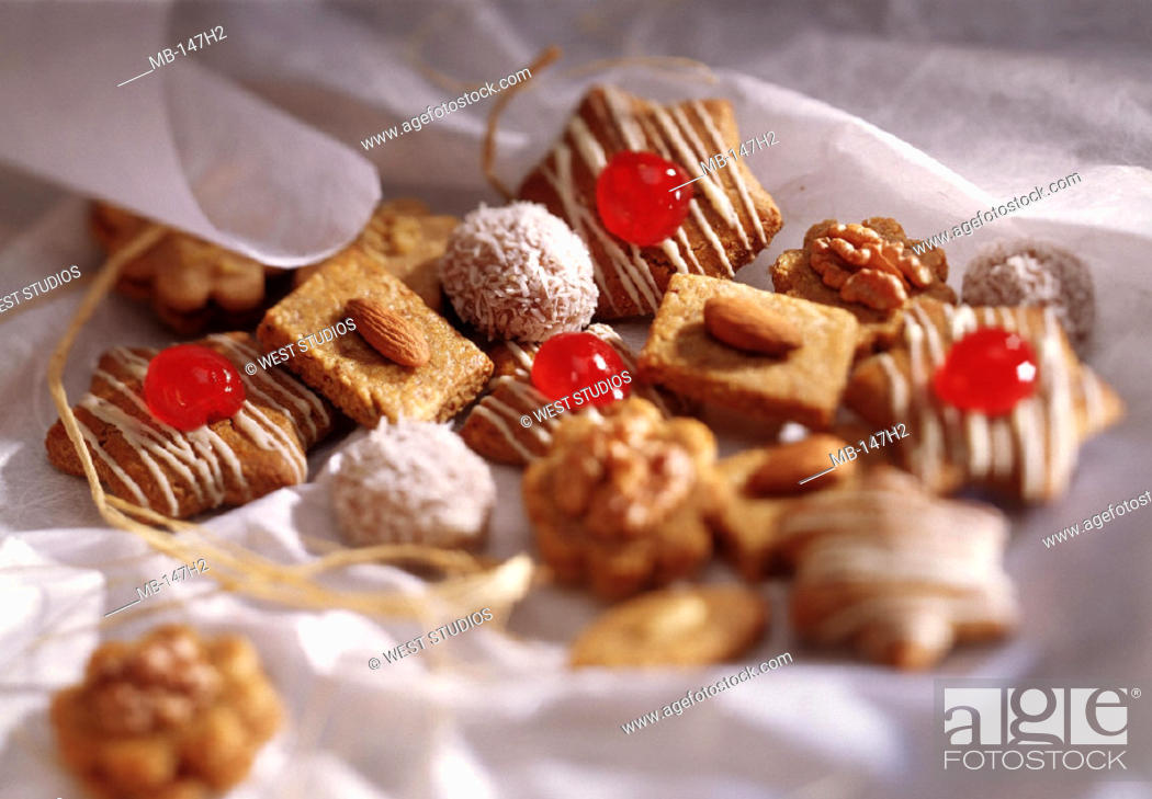 Christmas Cakes Cookies Still Life Stock Photo Picture And