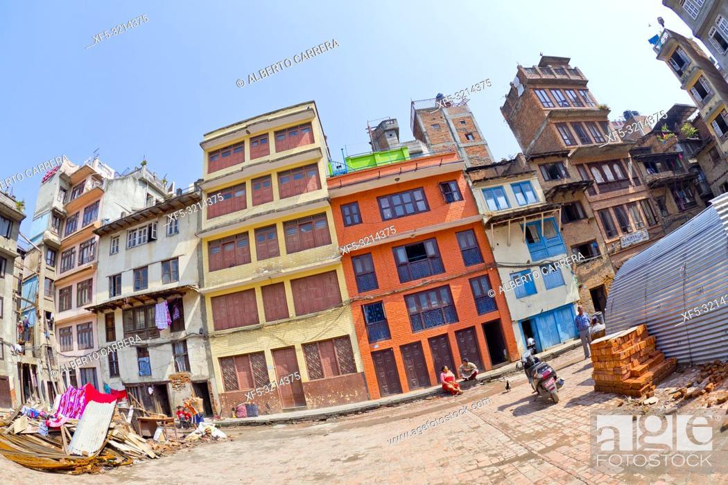 Imagen: Thamel Tourist Area, Kathmandu, Nepal, Asia.