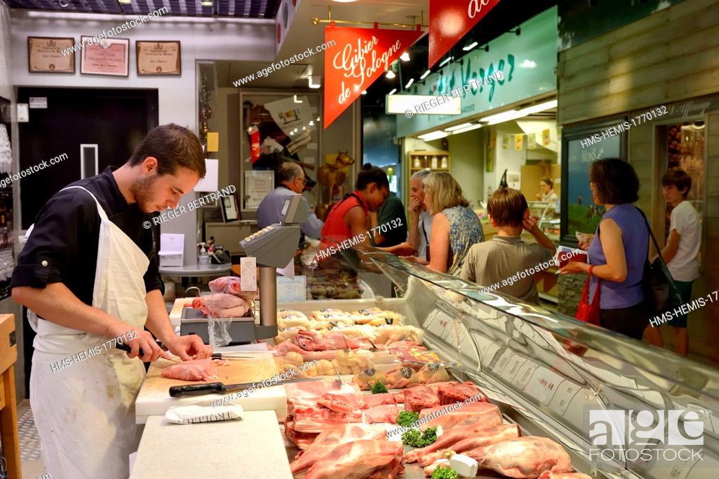 France Rhone Lyon Cours Lafayette Les Halles Paul Bocuse Paul