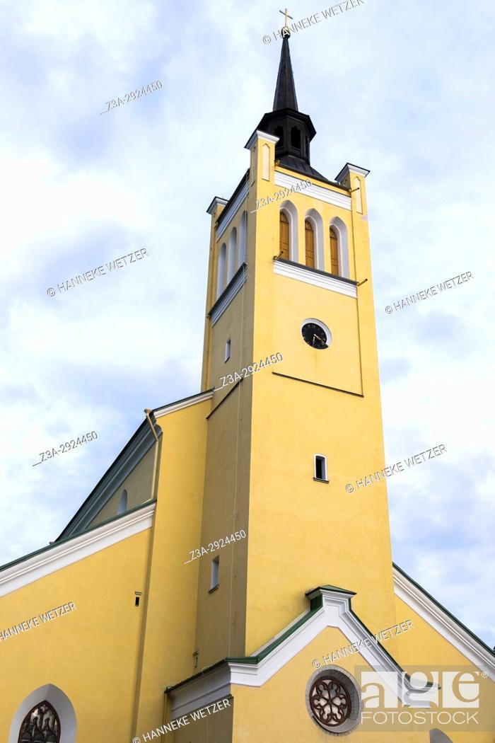 Imagen: St. John's Church in Tallinn, Estonia, Europe.