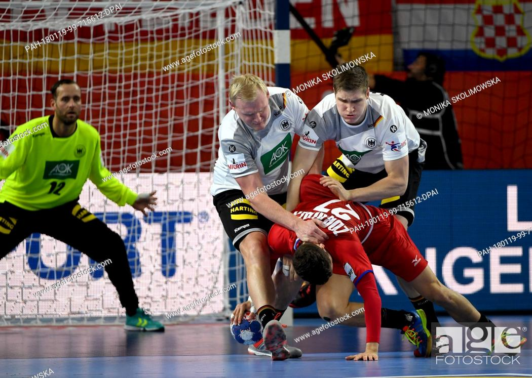 Germany S Finn Lemke R And Patrick Wiencek In Action
