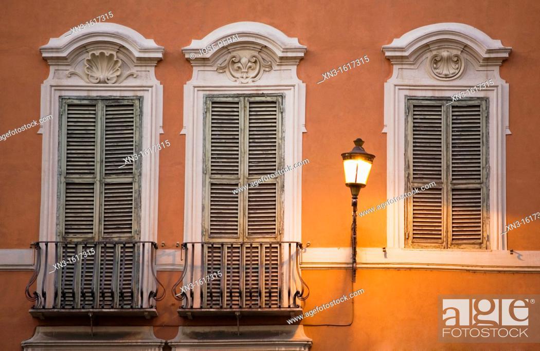 Stock Photo: Piazza di Spagna, Rome, Italy.