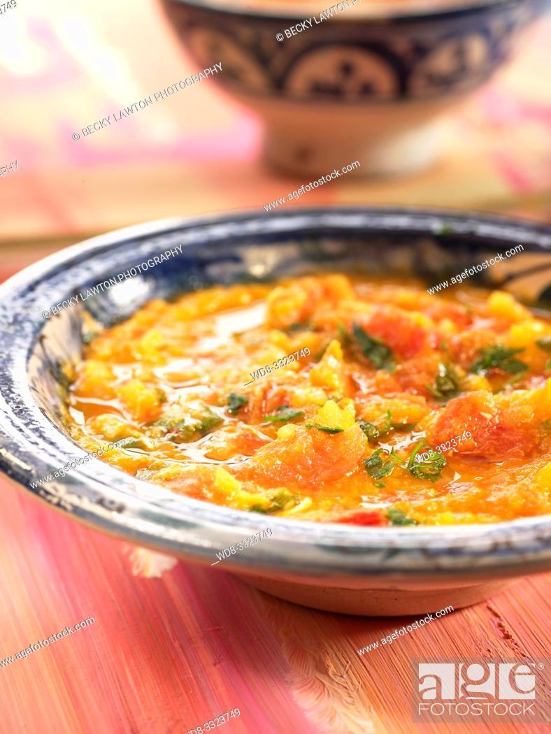 Imagen: verduras al estilo marroqui.