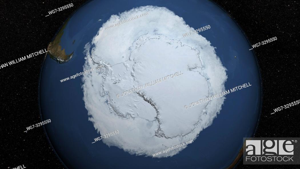 Imagen: EARTH Antarctica -- 15 Oct 2015 -- 2015 Antarctic Maximum Sea Ice Extent Breaks Streak of Record Highs. . . The sea ice cover of the Southern Ocean reached its.