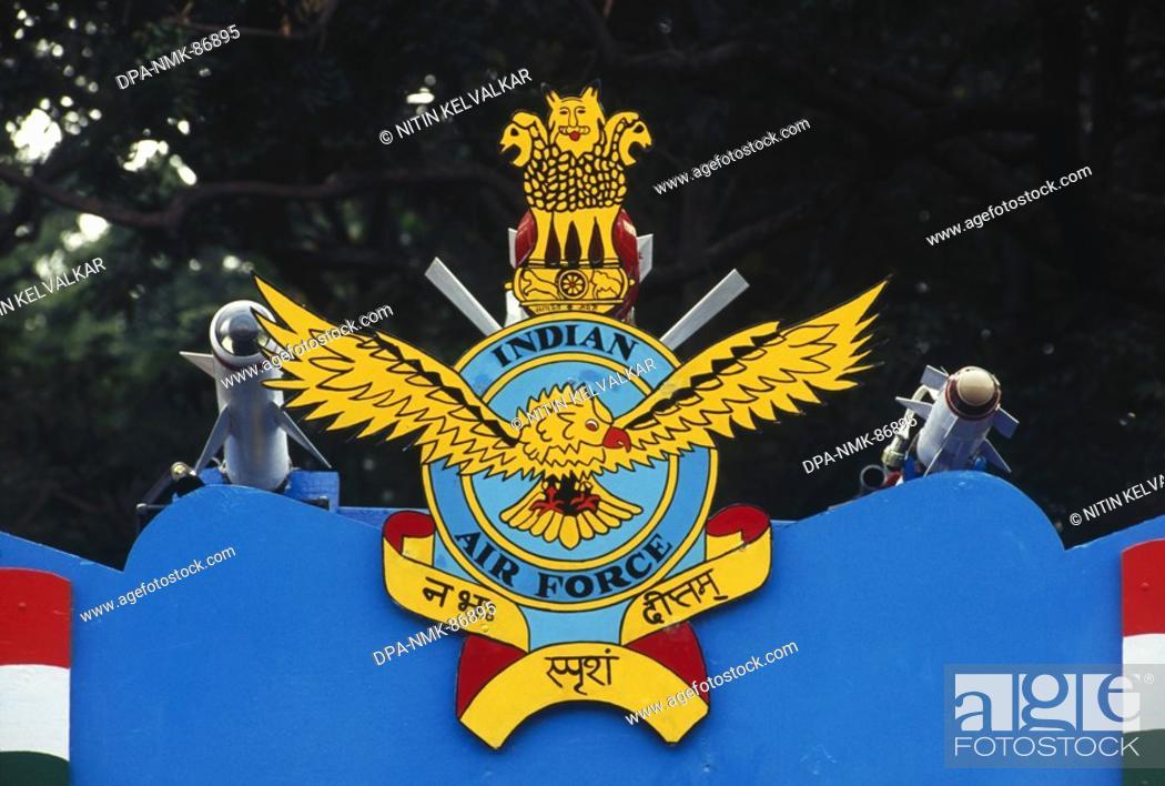 Emblem Of Indian Air Force On Republic Day Chennai Tamil Nadu