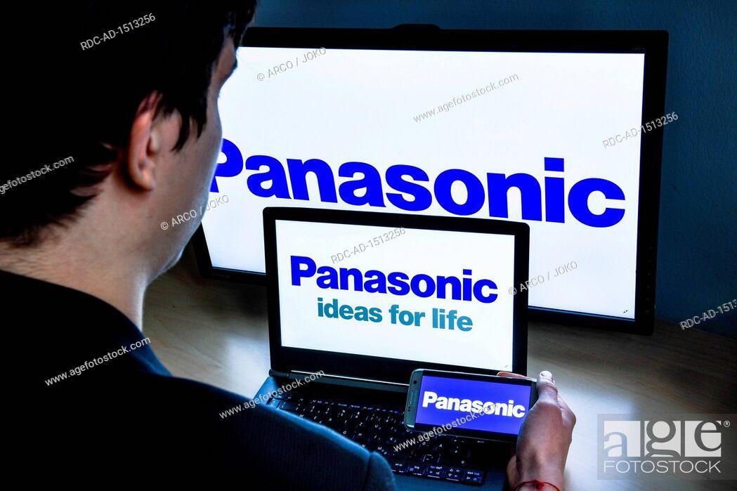 Stock Photo: Logo Panasonic.