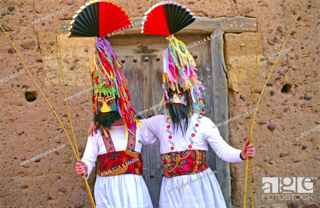 Stock Photo: 'Guirrios'. Velilla de la Reina. Leon province. Castilla-Leon. Spain.