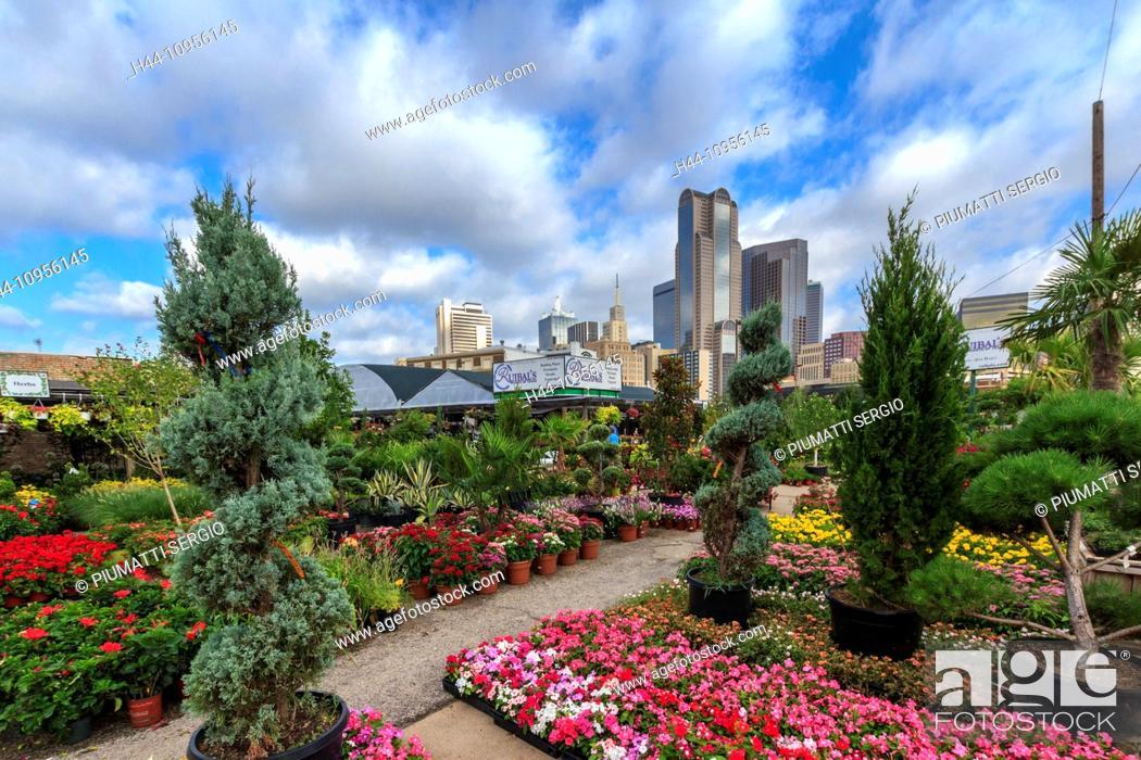 Dallas Farmers Market Garden Center