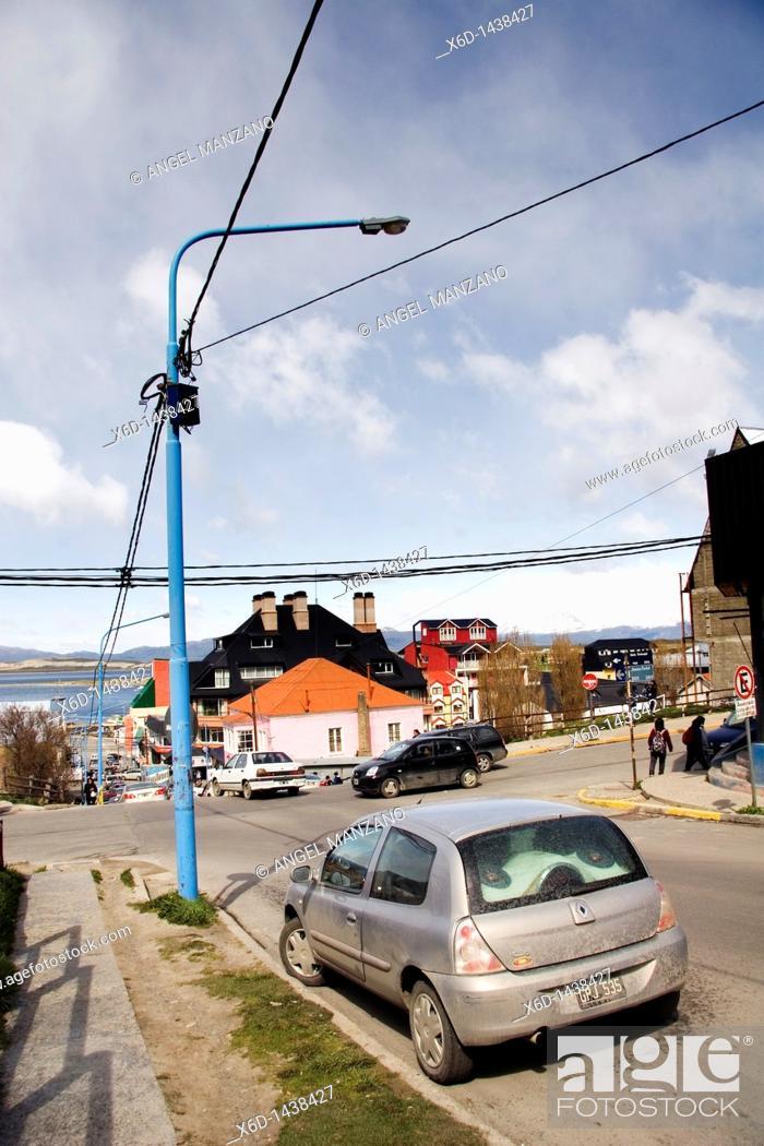Stock Photo: Ushuaia, Tierra del Fuego island, Argentina.