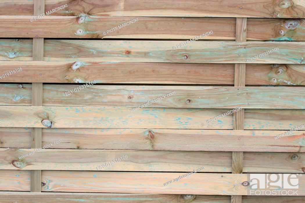Stock Photo: Wood fance background.