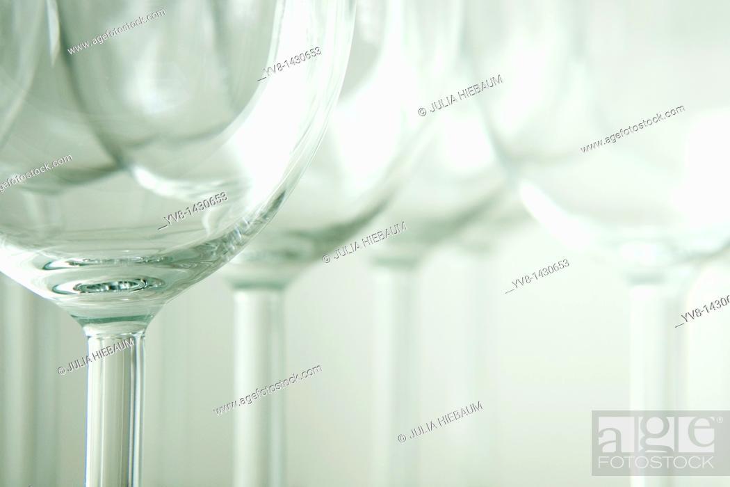 Stock Photo: Glasses.