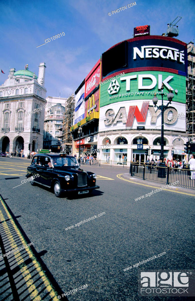 Stock Photo: Piccadilly Circus. London. England.